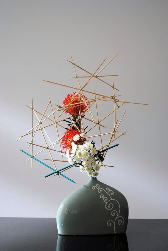 Ikebana blumendesign pflanzenblog for Japanische blumenkunst
