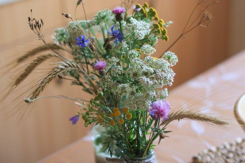 Blumenstrauß von der Wiese