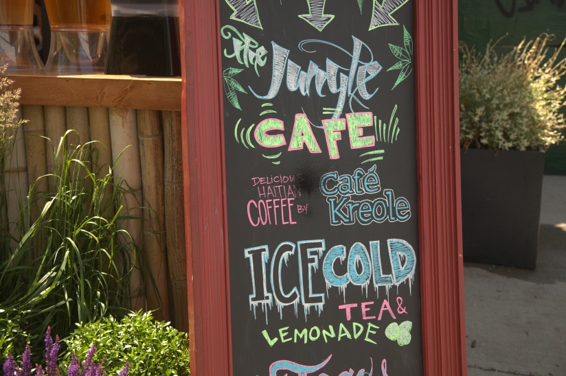 Jungle-Cafe in Brooklyn