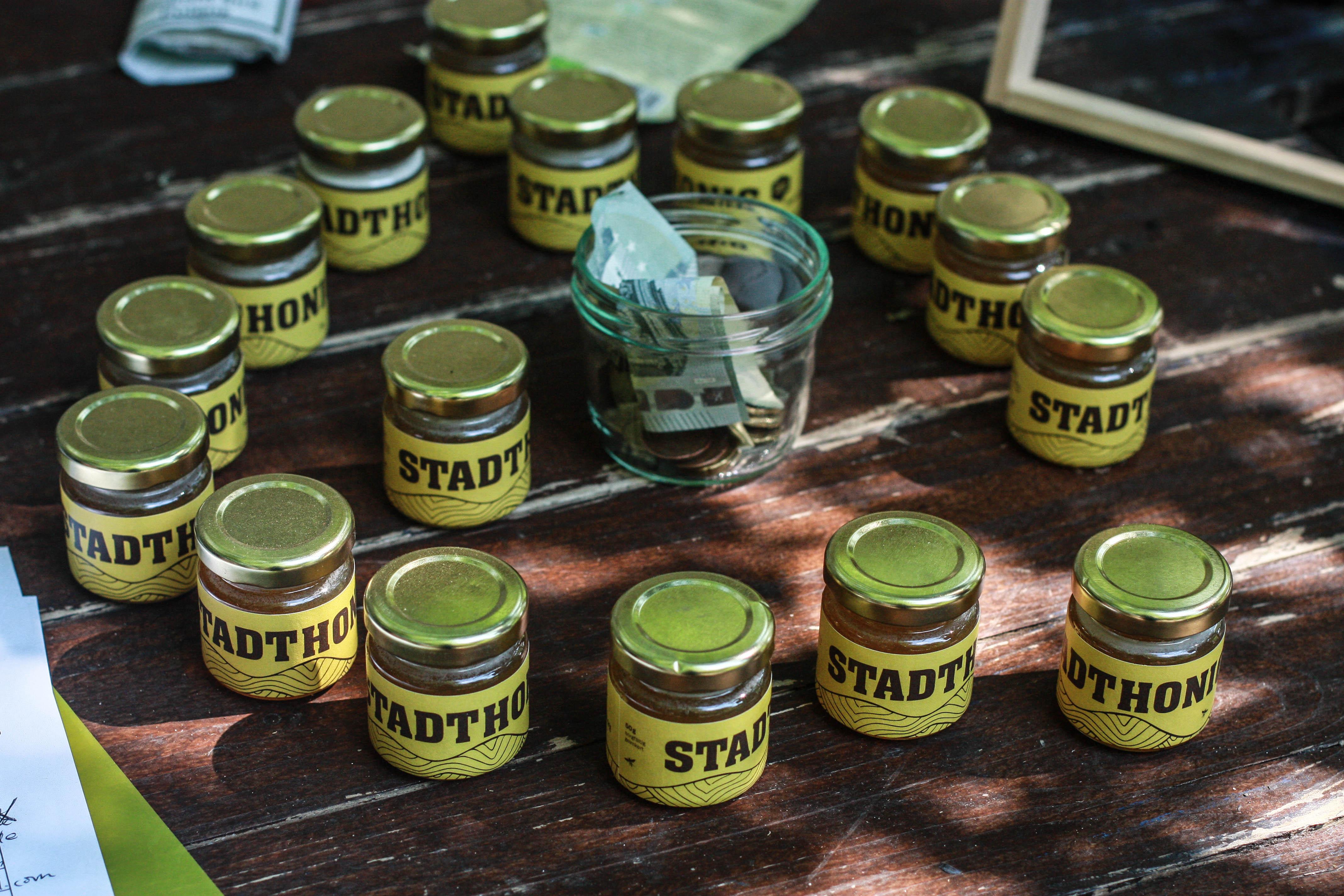 Berliner Honig wurde im Prinzessinnengarten verkauft.