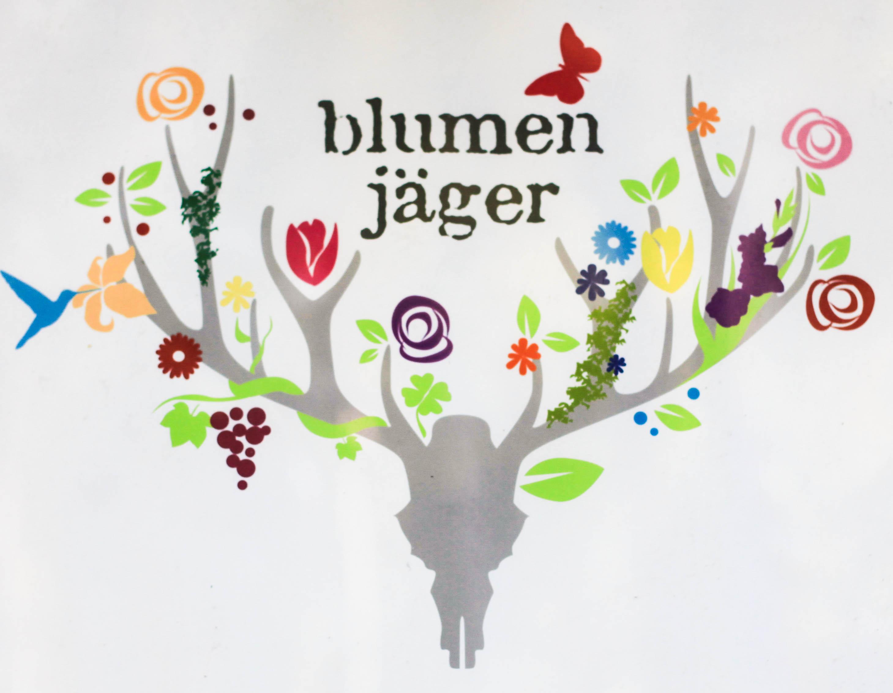 Das Logo vom Blumenjäger ist gelungen!