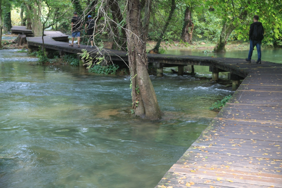 Herrlich spazieren gehen konnte ich durch den Nationalpark Krka.