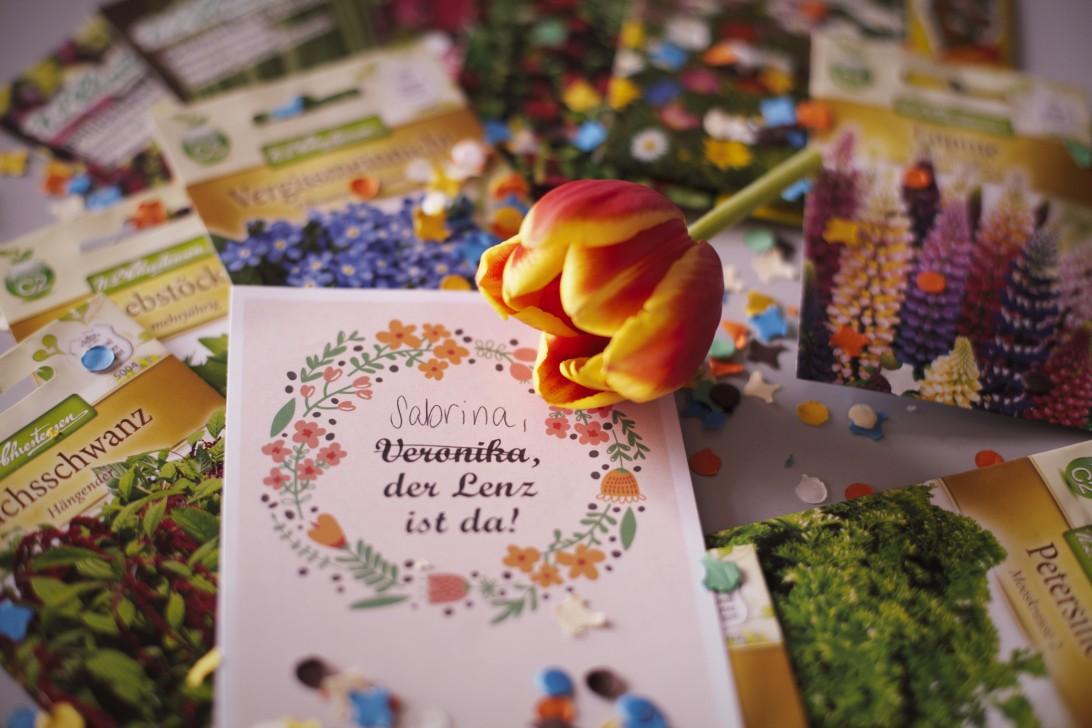 Post mit Blumensamen erhält man nicht jeden Tag als Geschenk.