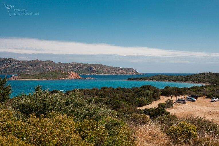 Türkisfarbenes Meer auf Sardinien