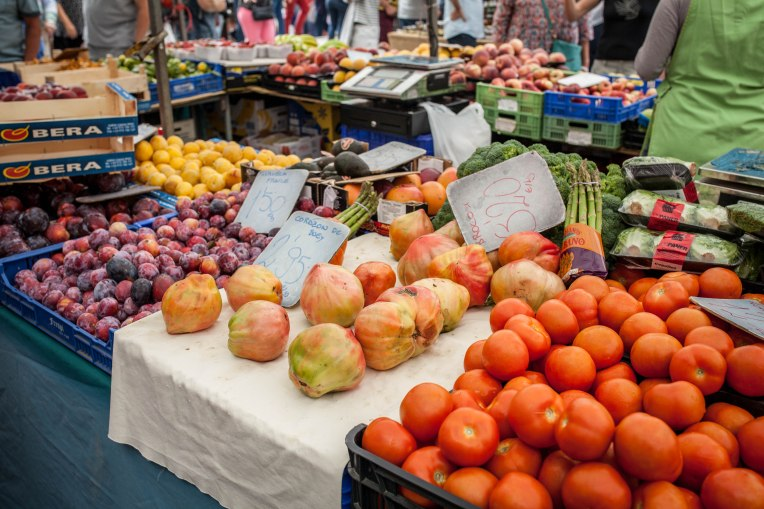 Markttag in Pollenca.