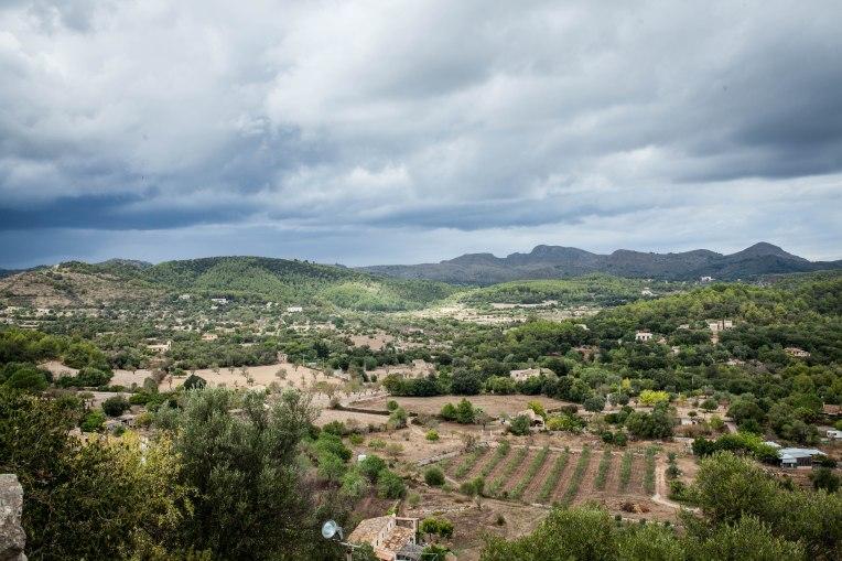 Blick auf das Tal um Arta