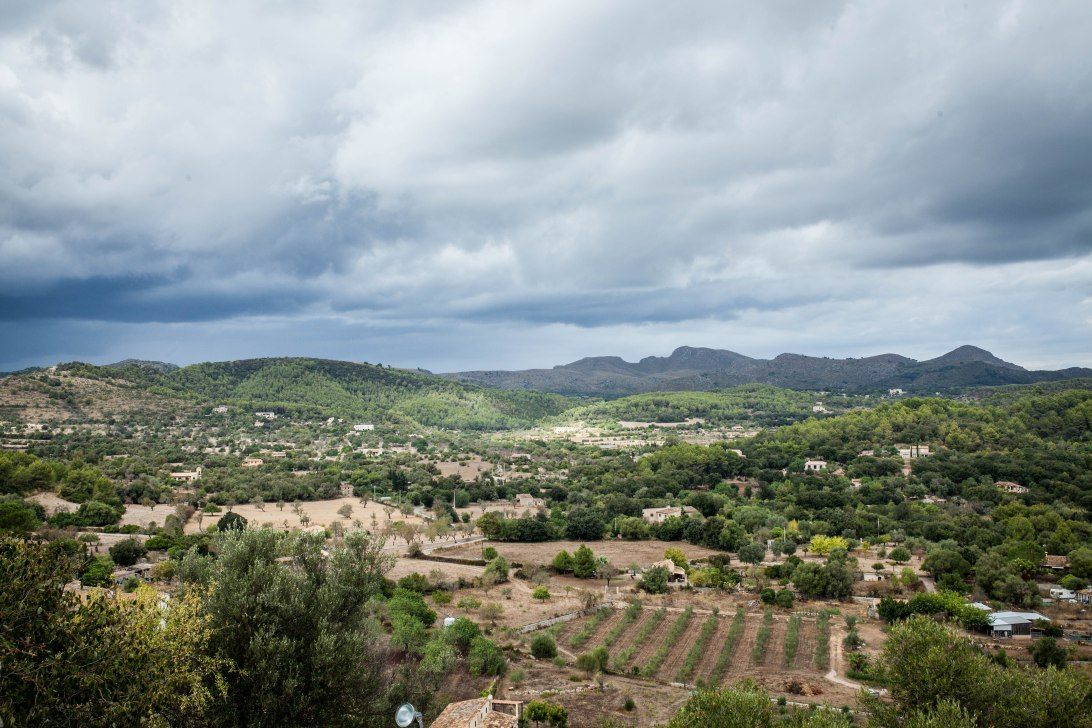 Schöne Landschaft bei Arta